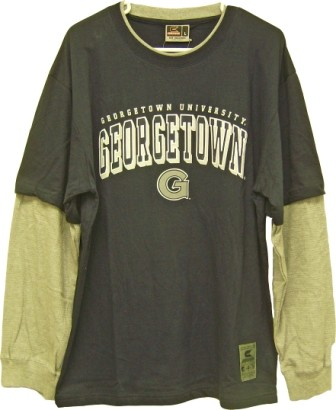 Colosseum Athletics Georgetown Hoyas NCAA T-shirt/Long Sleeve Combo at Sears.com