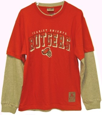 Colosseum Athletics Rutgers Scarlett Knights NCAA T-shirt/Long Sleeve Combo at Sears.com