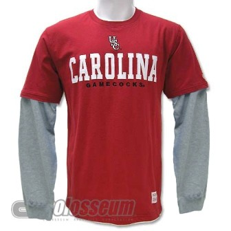 Colosseum Athletics South Carolina Gamecocks NCAA T-shirt/Long Sleeve Combo at Sears.com