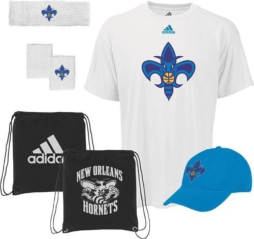 Adidas New Orleans Hornets Adidas NBA To the Court 5-Piece Shirt Hat Combo Pack at Sears.com
