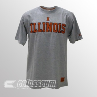Colosseum Athletics Illinois Licensed Embroidered Logo T-Shirt at Sears.com