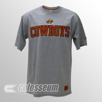 Colosseum Athletics Oklahoma State Licensed Embroidered Logo T-Shirt at Sears.com